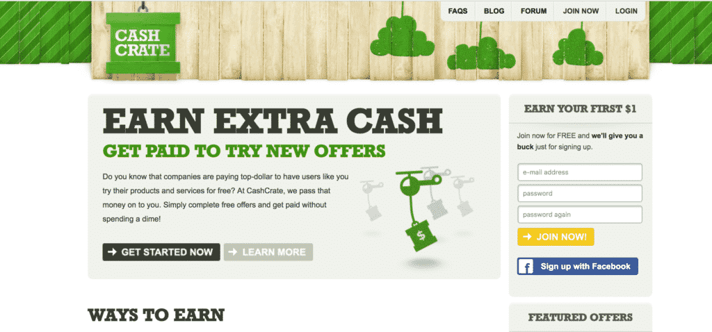 Cash-Crate-homepage