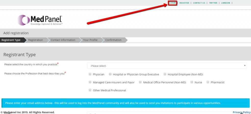 medpanel login location