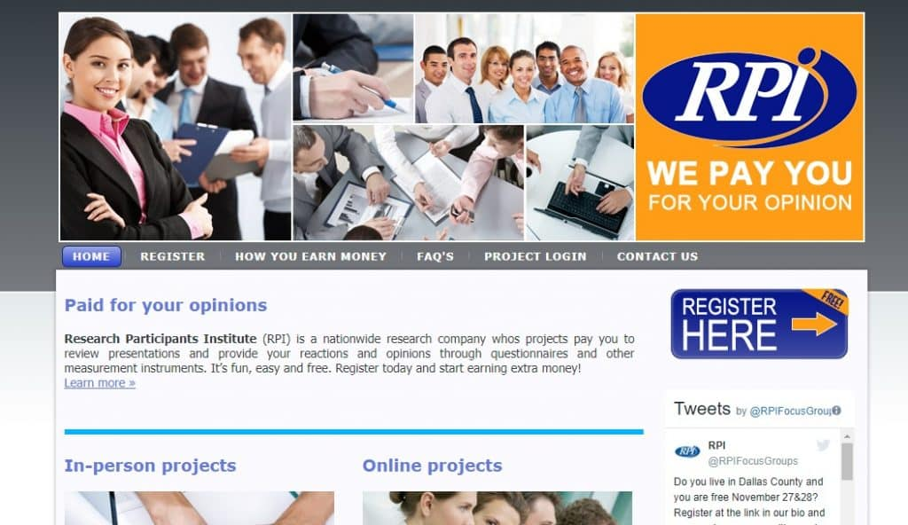 research participants institute homepage preview