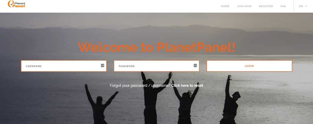 planet panel homepage preview