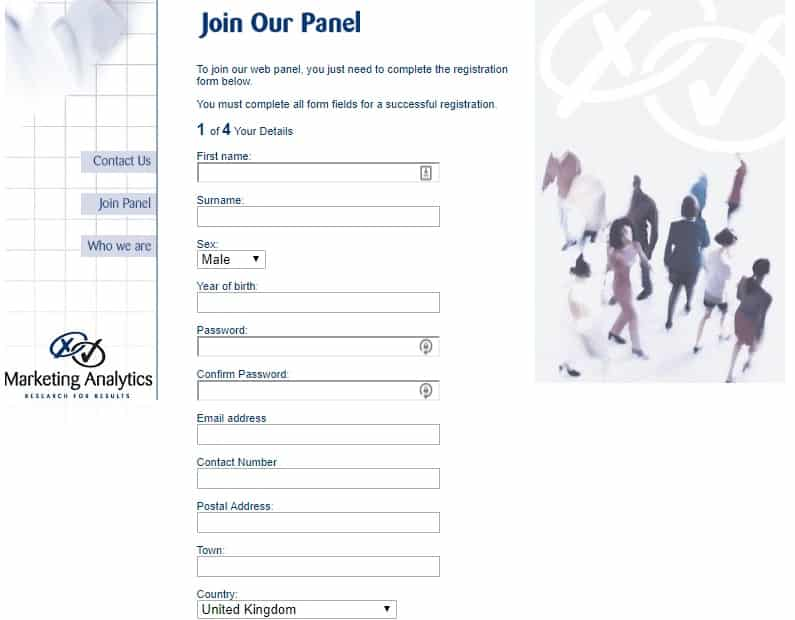 analytics panel join page preview