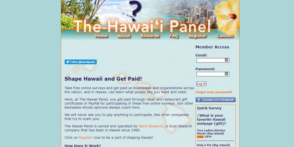hawaii panel homepage preview
