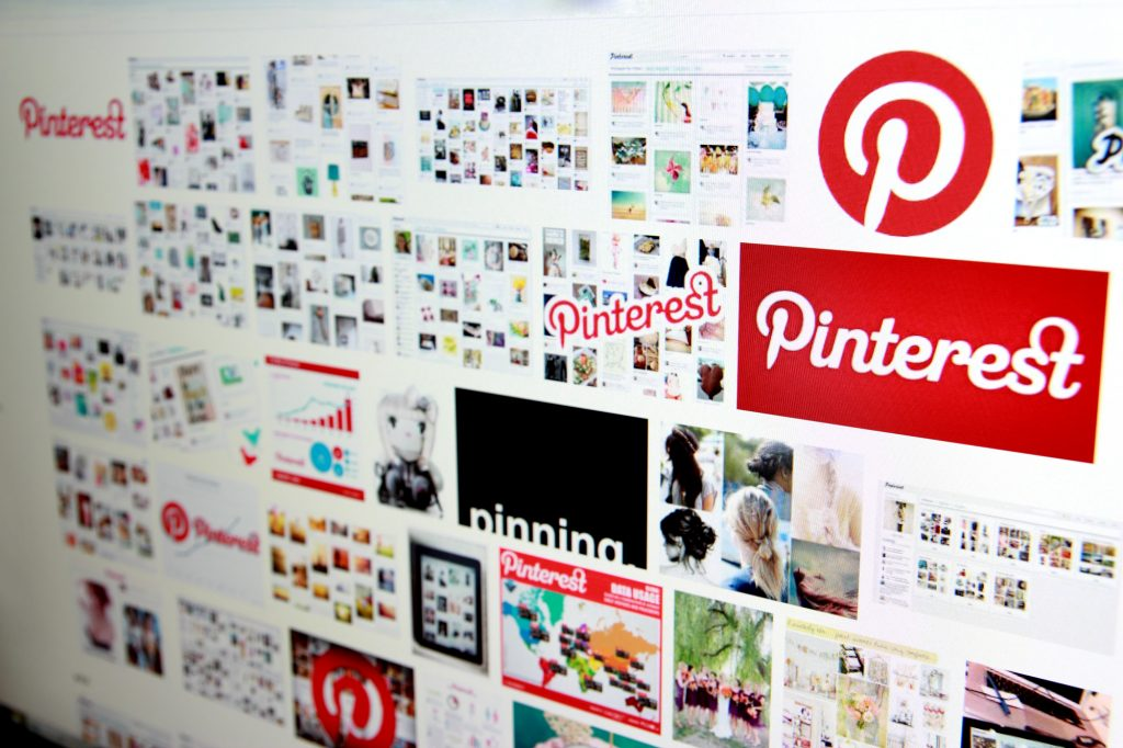 pinterest in search results