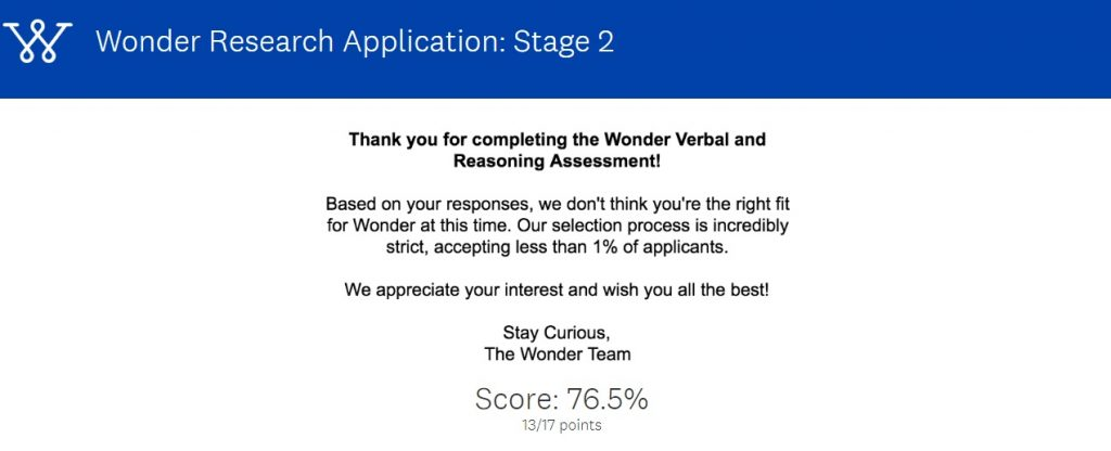 wonder verbal and reasoning assessment page