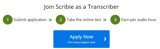 join scribie process page