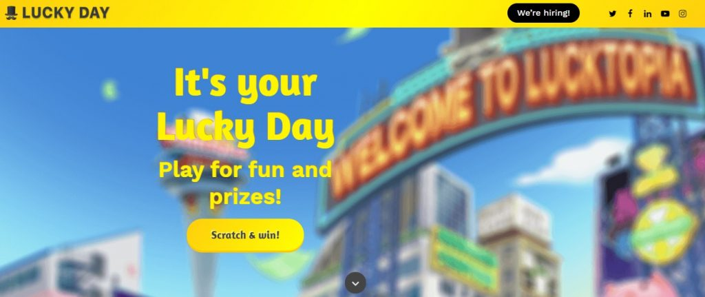 lucky day homepage preview