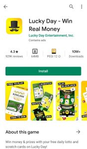 luckyday android app