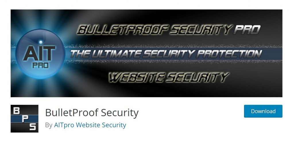 Bulletproof Security pro wordpress download page