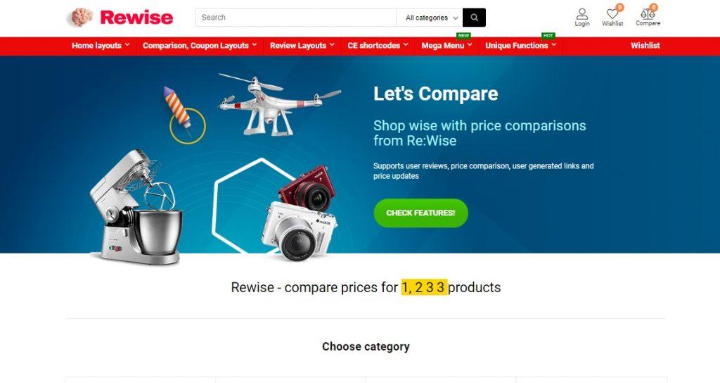 REHub amazon affiliate wordpress theme