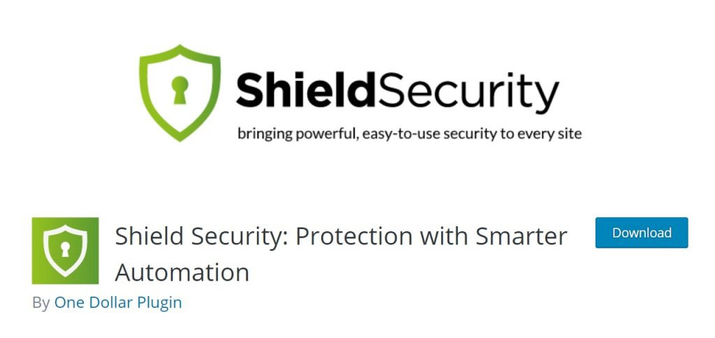 Shield Security wp plugin pro page