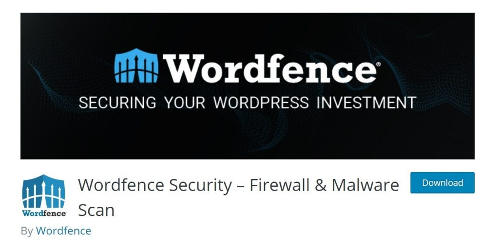 Wordfence wp plugin download page