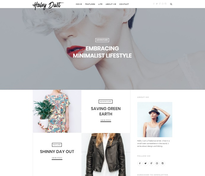 impose wordpress theme layout