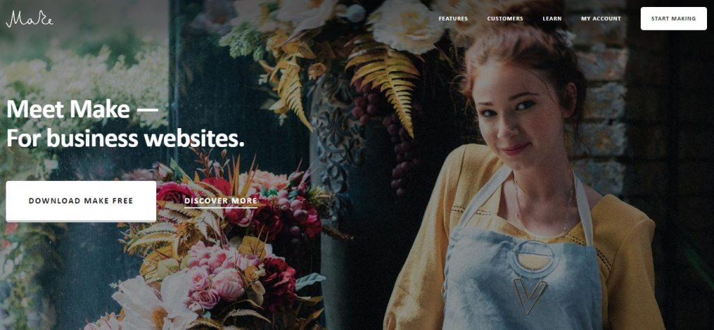 make free wordpress business theme layout