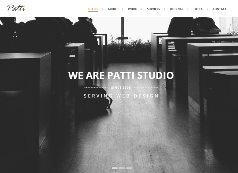 patti studio wordpress theme