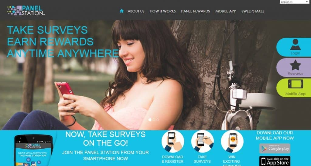 survey panel homepage preview